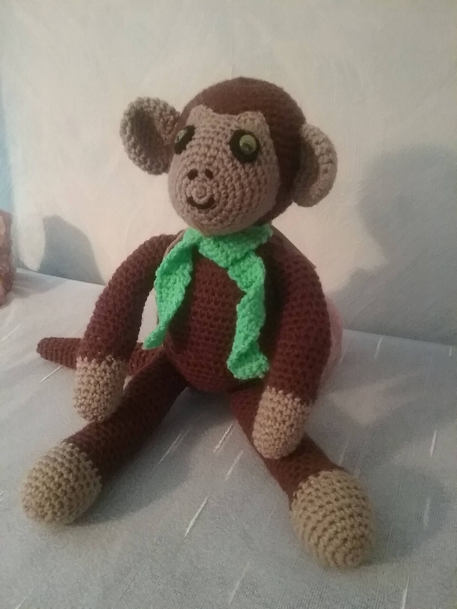 Coco the monkey is looking for a loving home, approx. 20 cm / monkey ...