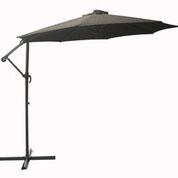 10 Brown Offset Umbrella Cantilever Umbrella Patio
