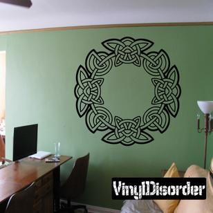 Celtic Ornament Wall Decal - Vinyl Decal - Car Decal - SM176