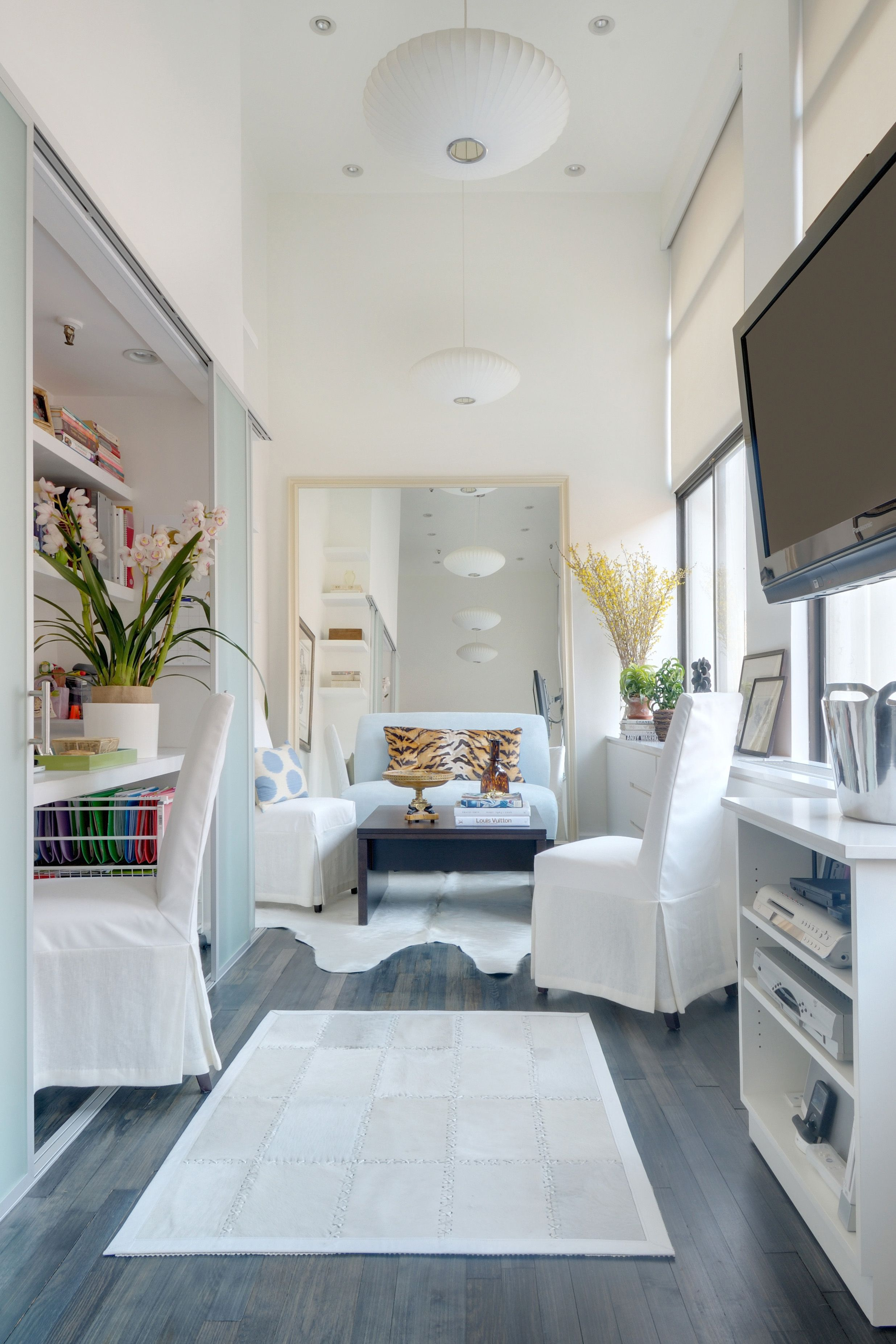 House also designer adds luxe lady   touch to former east village man cave rh pinterest