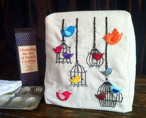 Handmade Hand Embroidered Cover For 4 5 Or 5qt Kitchenaid