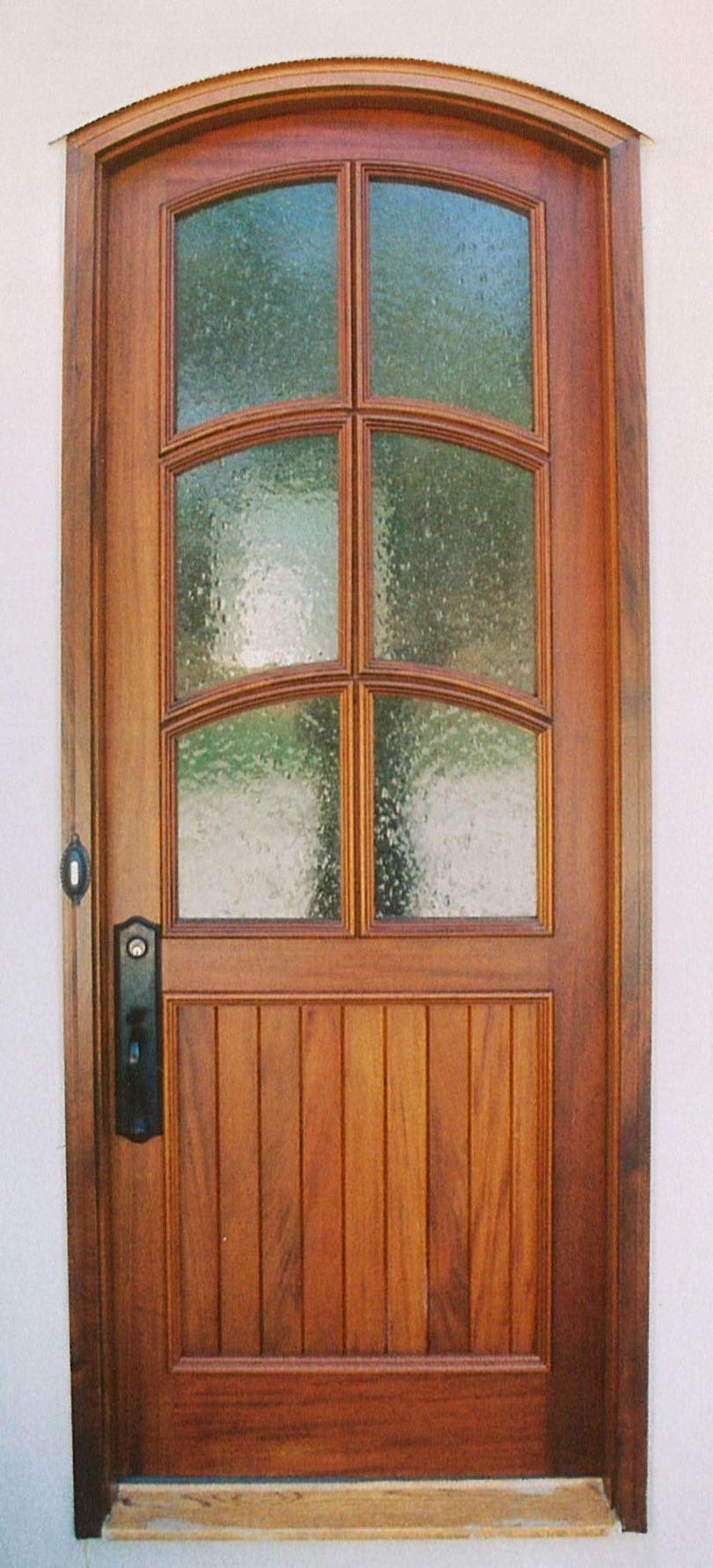 Exterior doors with seeded glass google search