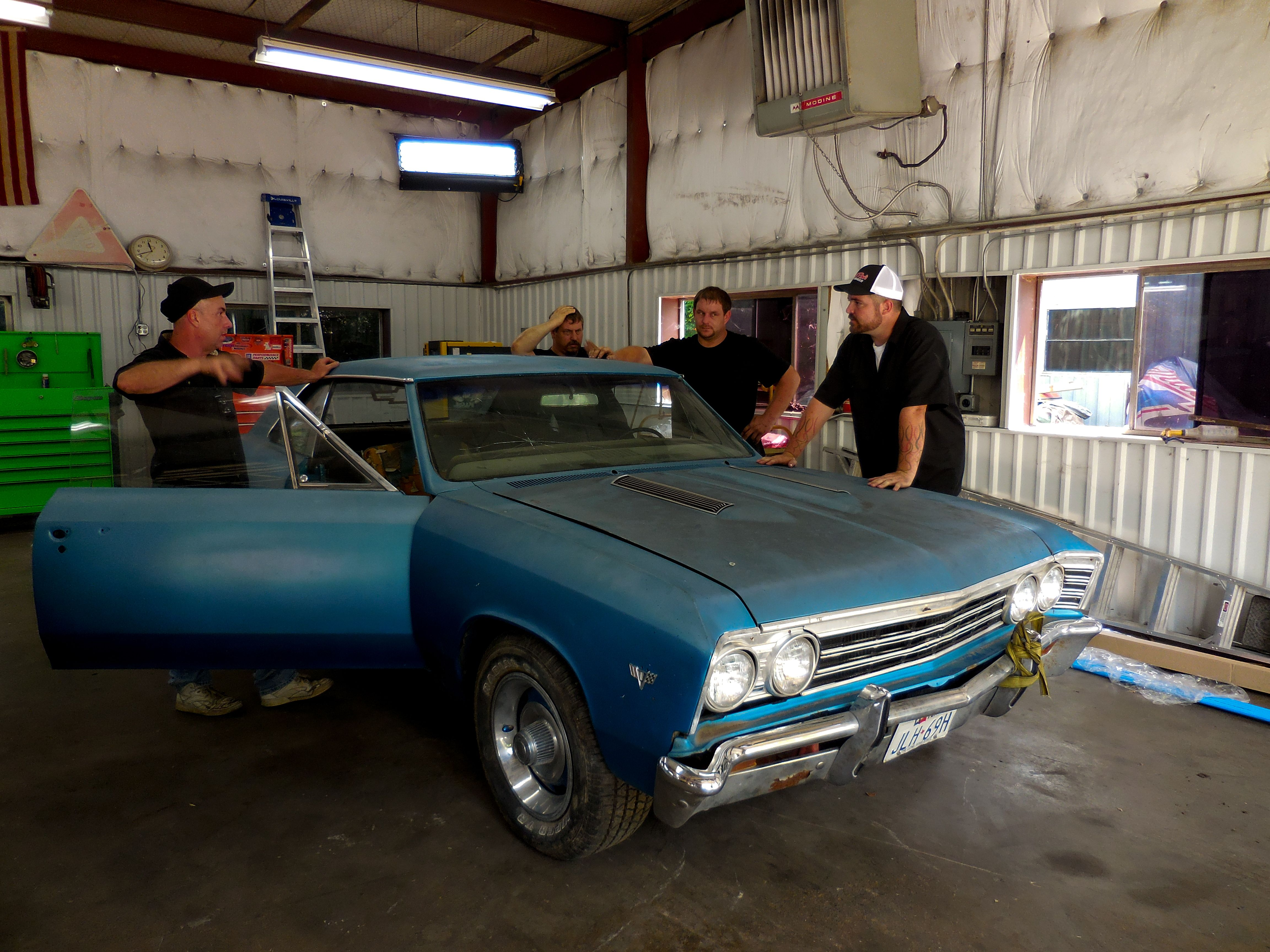 Does Richard Rawlings Own Fired Up Garage - Misfit garage discovery channel