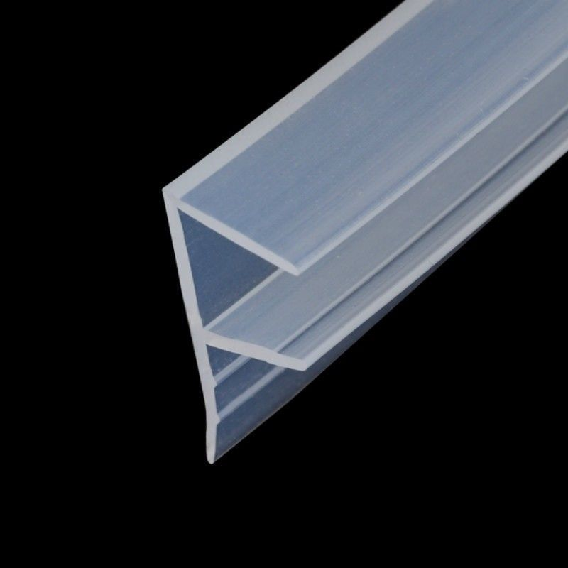 7 19 Aud 1m F Bath Shower Screen Door Window Seal Strip Gap Curved Rubber Clear 6 12mm Ebay Home Garden Window Seal Shower Screen Bath Shower Screens