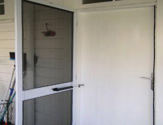 mosquiteras para puertas abatibles de aluminio mallorca