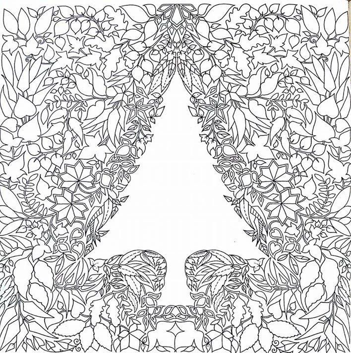 Enchanted Forest - Johanna Basford | Cute coloring pages ...