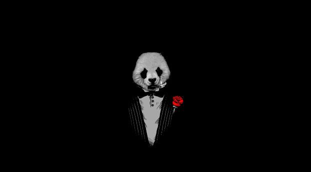 720x1280 Panda As The Godfather Art Moto G X Xperia Z1 Z3 Compact Galaxy S3 Note Ii Nexus Wallpaper Hd Artist 4k Wallpapers Images Photos And Background Black Hd Wallpaper Panda