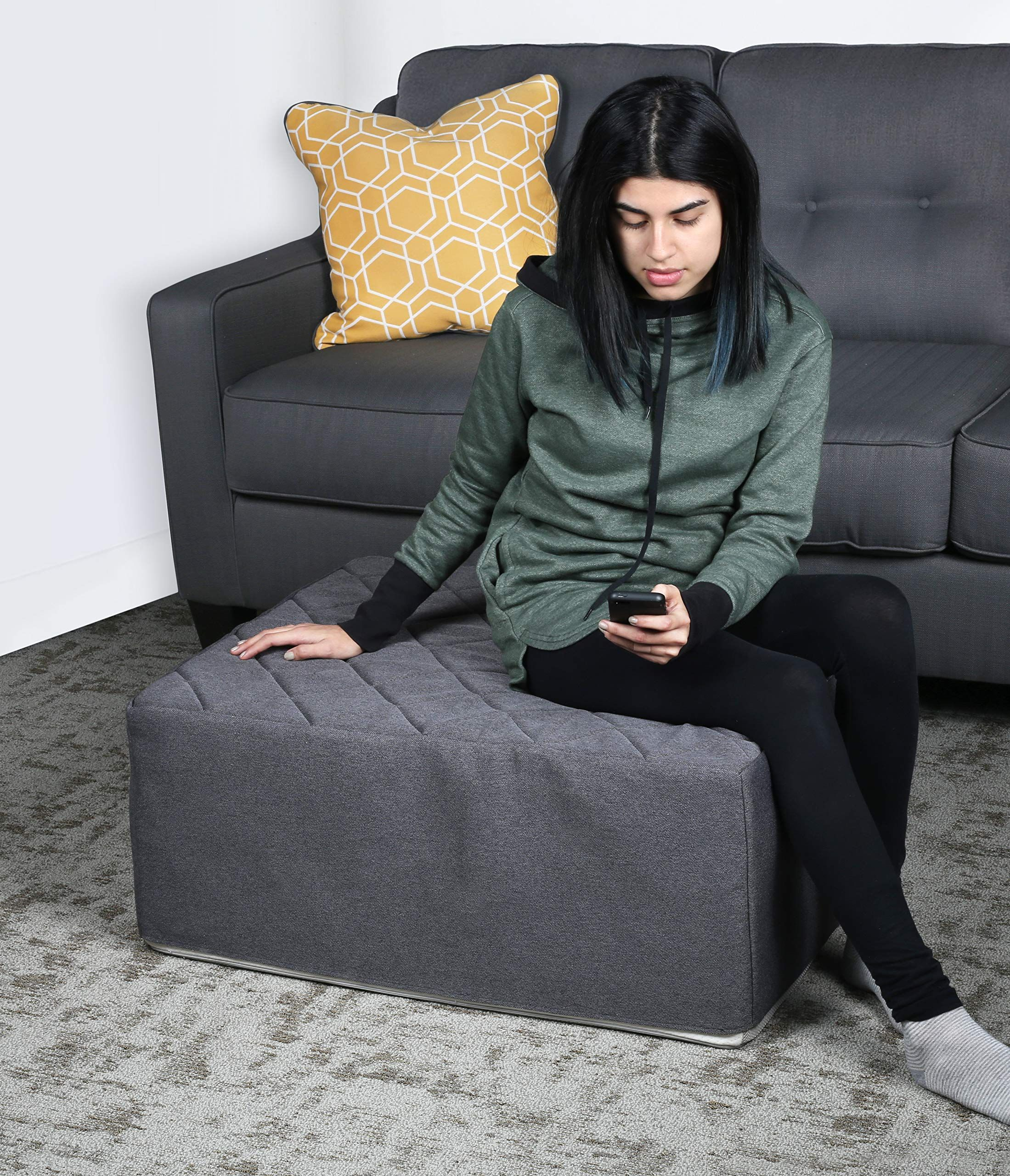 Milliard Tri Fold Ottoman Cover Only for The 31 Inch ...