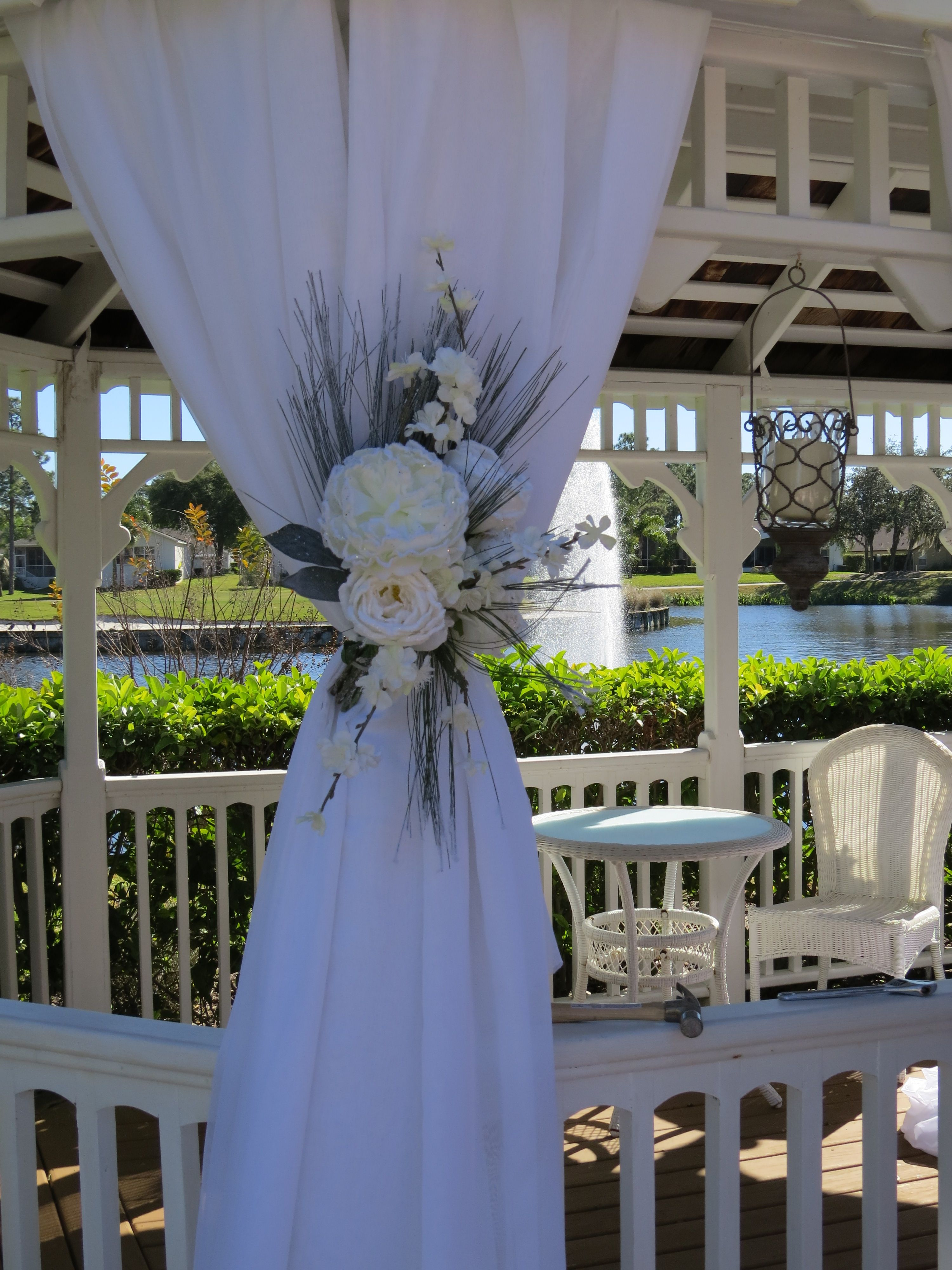 wedding gazebo decor  wedding  Gazebo wedding