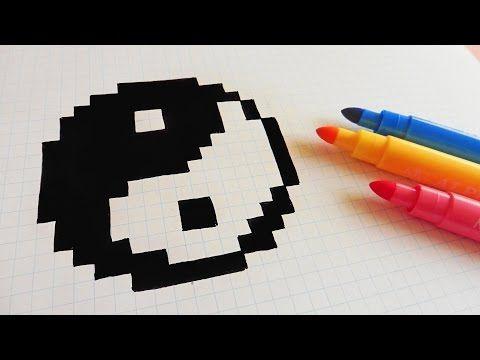 Pixel Art Comment Dessiner Un Panda Kawaii Pas A Pas