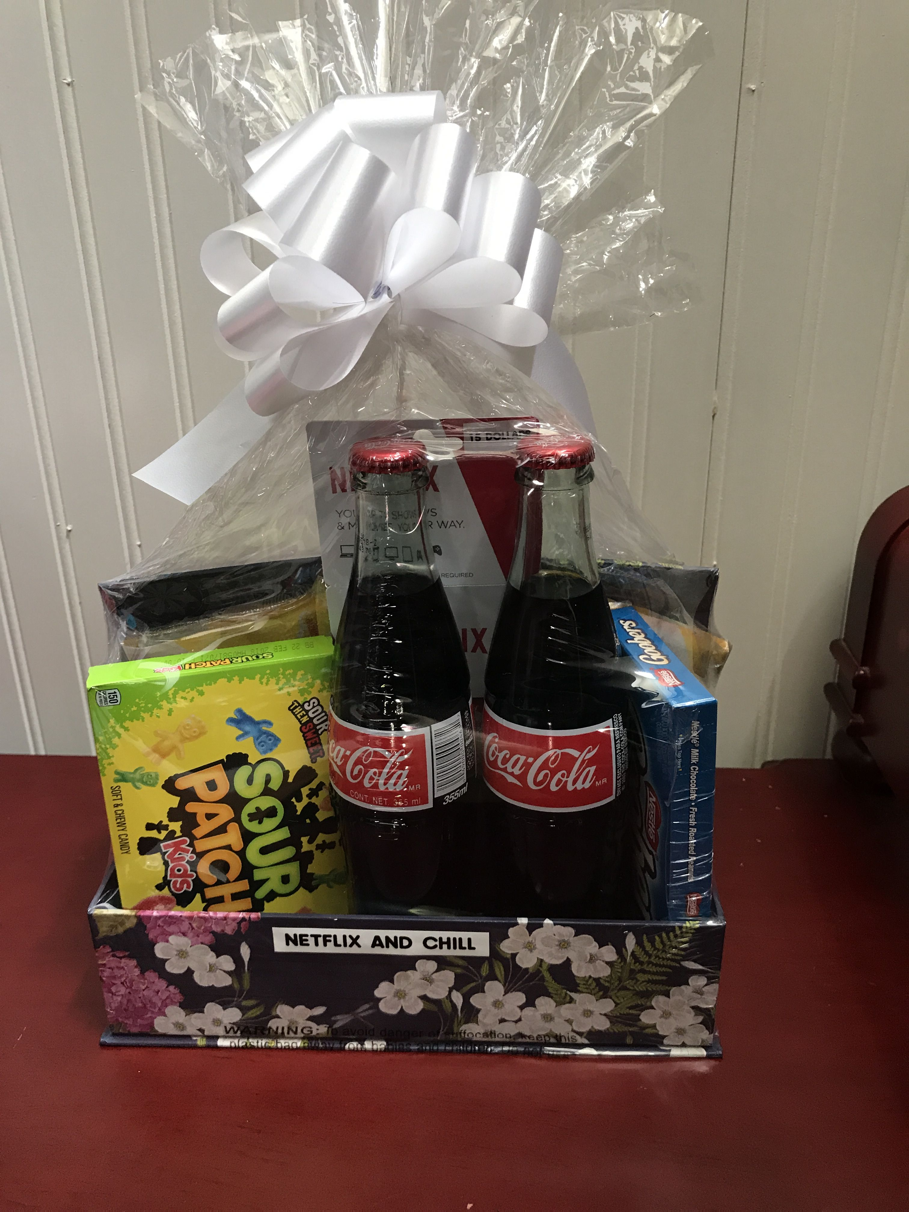 Door prize or auction basket and chill using