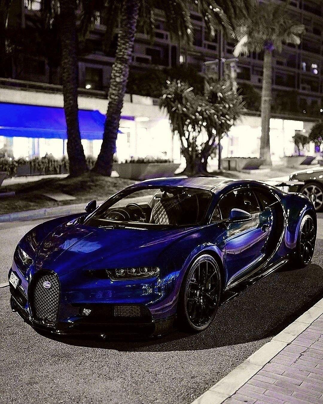 Bugatti Chiron Super Sport 300 Prototype 2019 Wallpapers: Amazing Colour Bugatti Blue Bullet #bugattiveyron Amazing