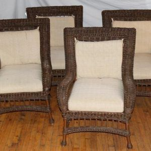 Ethan Allen Wicker Furniture Patio Dzuls