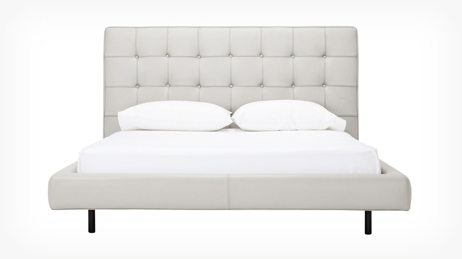 Winston Bed Venice Steel High Back Front 02