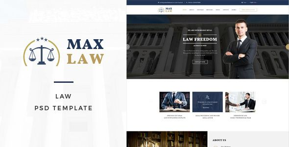 Max Law - Lawyer  Attorney HTML Template Lawyer, Template and Web - health history template