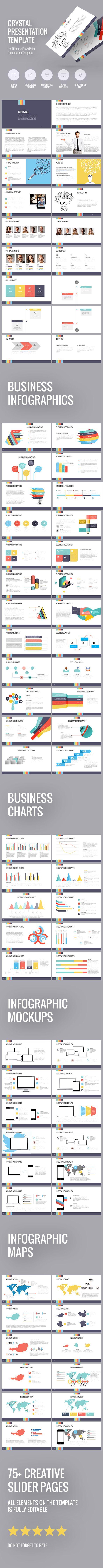 Crystal presentation template (PowerPoint Templates) | Präsentation ...