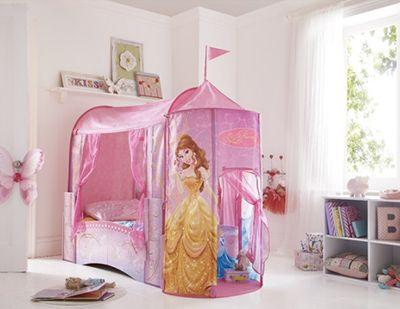 Princess Bed Canopy | Disney Princess Disney Bed with Canopy & Princess Bed Canopy | Disney Princess Disney Bed with Canopy ...