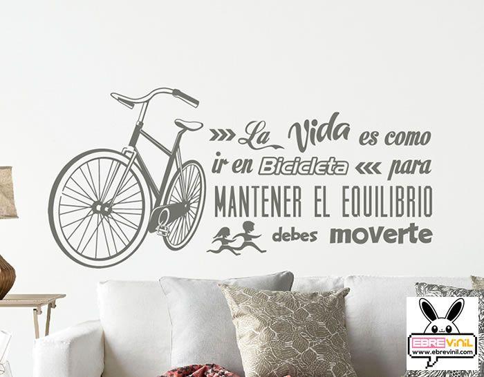 Vinilo frase de texto en esta casa decoraci n de - Vinilos con textos ...