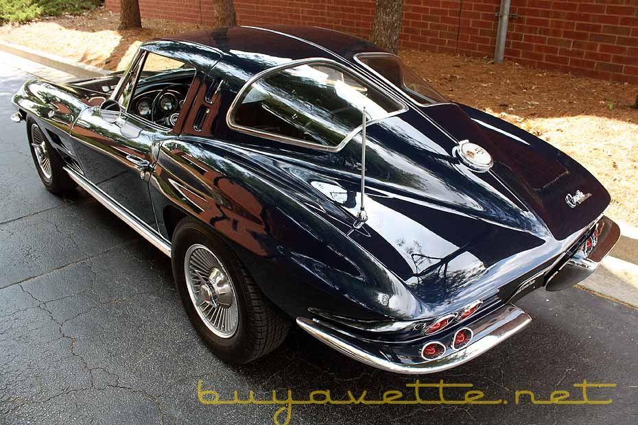 1963 Corvette Split Window Coupe For Sale Vintage Corvette Chevy Corvette Classic Corvette
