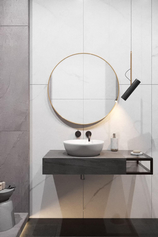Bathroom design by Kate Sarakula & BURO \'82 via La Petite Magazine ...