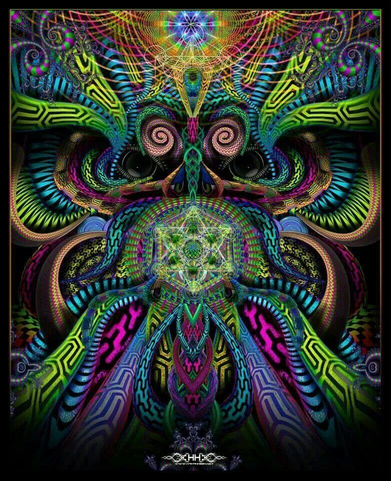Dmt Fractals Inspire Me Visionary Art Psychedelic