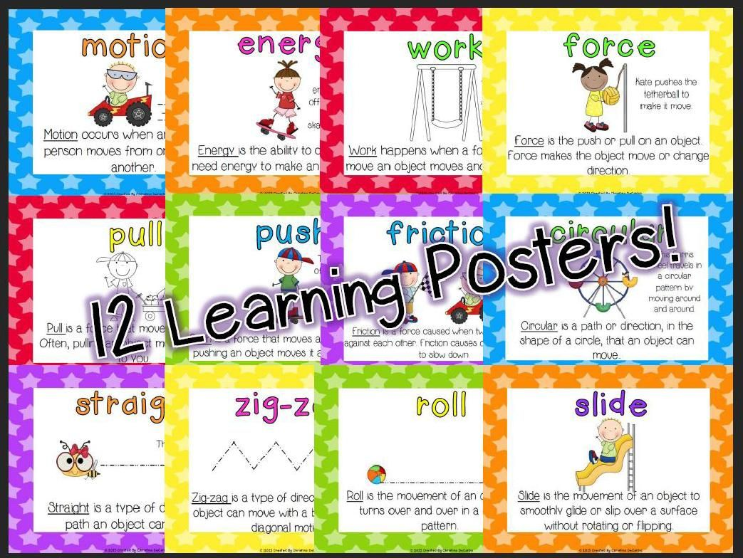 Push Pull 2nd Grade Worksheet
