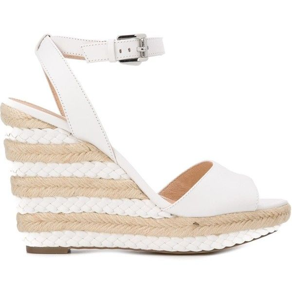c7f3eb14aa08 Michael Michael Kors Wedge Espadrille Sandals ( 123) ❤ liked on Polyvore  featuring shoes