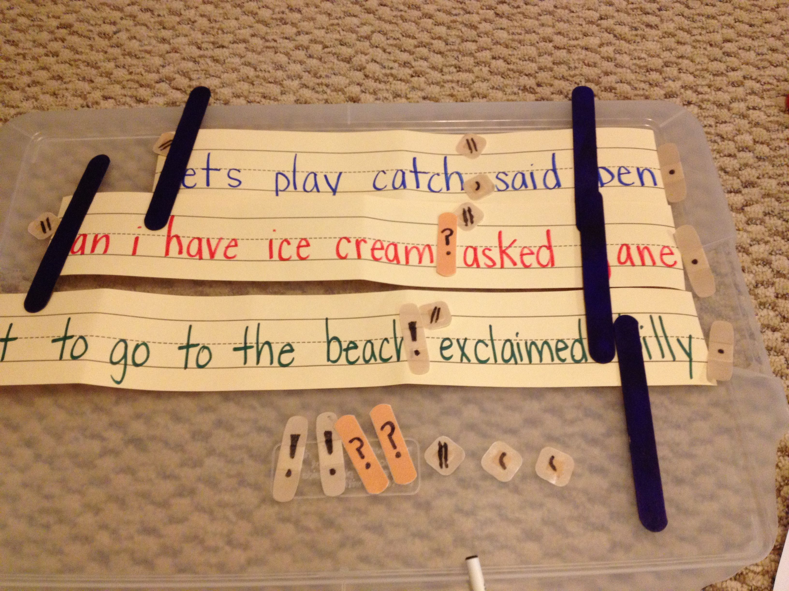 Sentence Surgery Fix Capitalization W Tongue Depressors