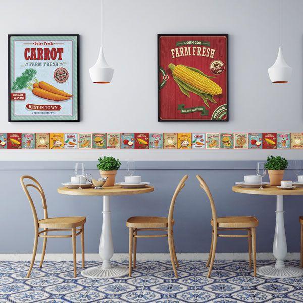 Pin de Papel pintado Barcelona en Cenefas para cocina | Pinterest ...