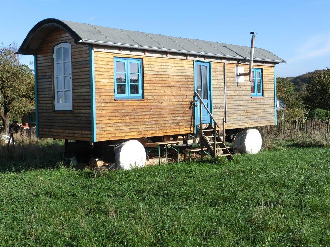 Bauwagen Ostseeurlaub Blockhütten zur Miete in