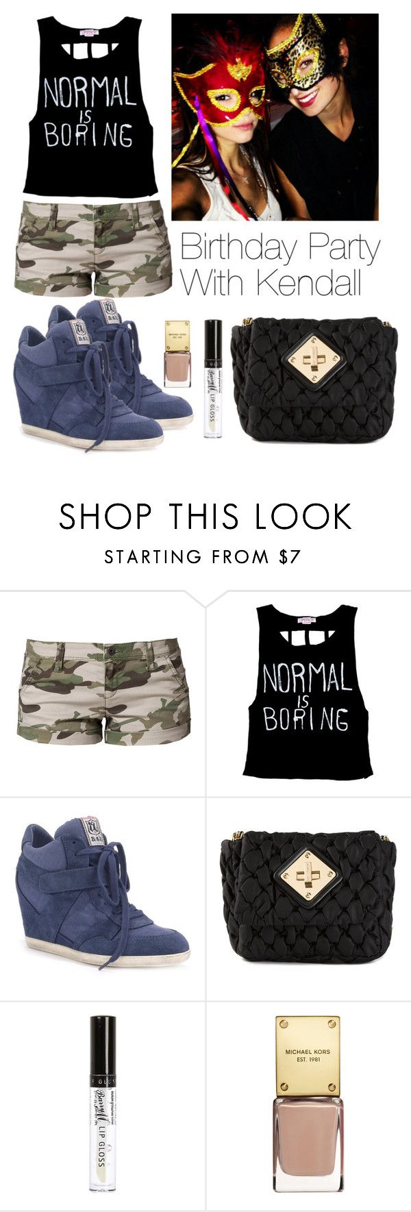 """""""Birthday Party With Kendall"""" by anne66francis ❤ liked on Polyvore featuring Benetton, Bibi, Moschino, River Island, kendalljenner and masquarade"""