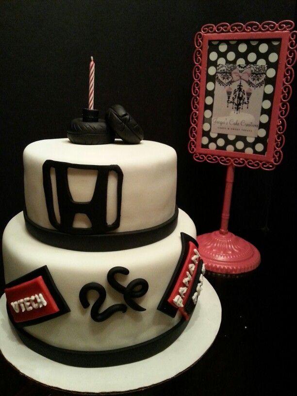 Honda Birthday Cake By Jacqui S Cake Creations Jacqui S