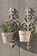 Amato Fioriera vaso fiori da MURO portafiori cuore vintage, shabby chic TB82
