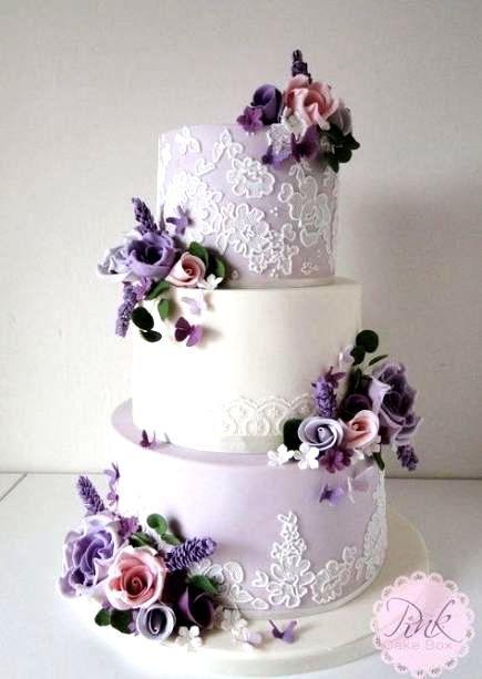 Photo of 52 Ideen Hochzeitstorten Lila Lavendel Schöne #Hochzeit
