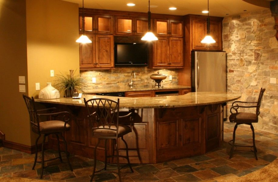 Transforming Ordinary Basement Into Cool Basement Ideas: Cool Kitchen In Basement  Ideas U2013 OHUA88.