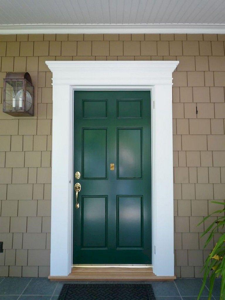 51 Marvelous Traditional Front Door Design Ideas Traditional Front Doors Exterior Door Frame Front Door Trims