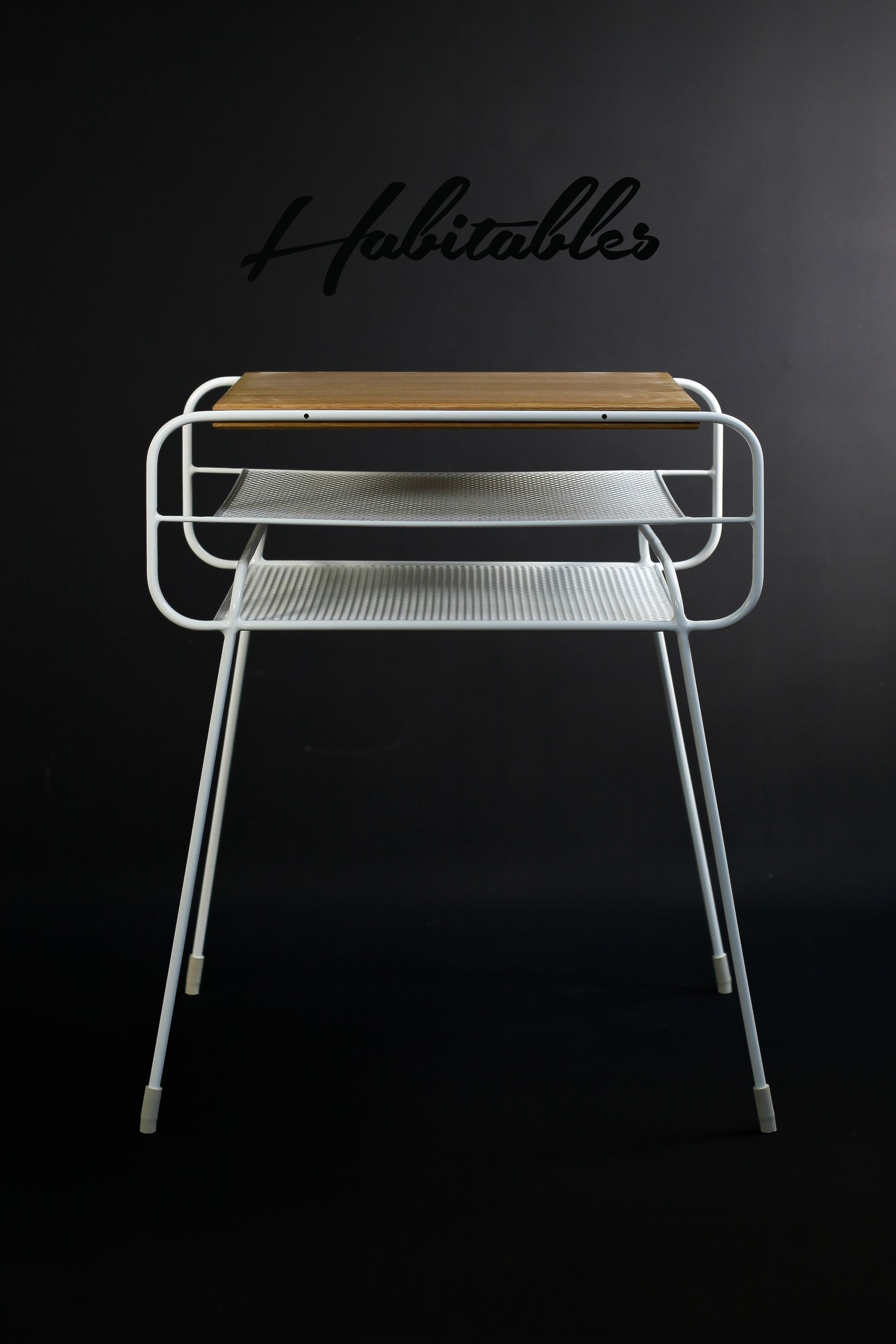 Wohndesign schlafzimmermöbel white on black double nightstand iron u wood serie on behance