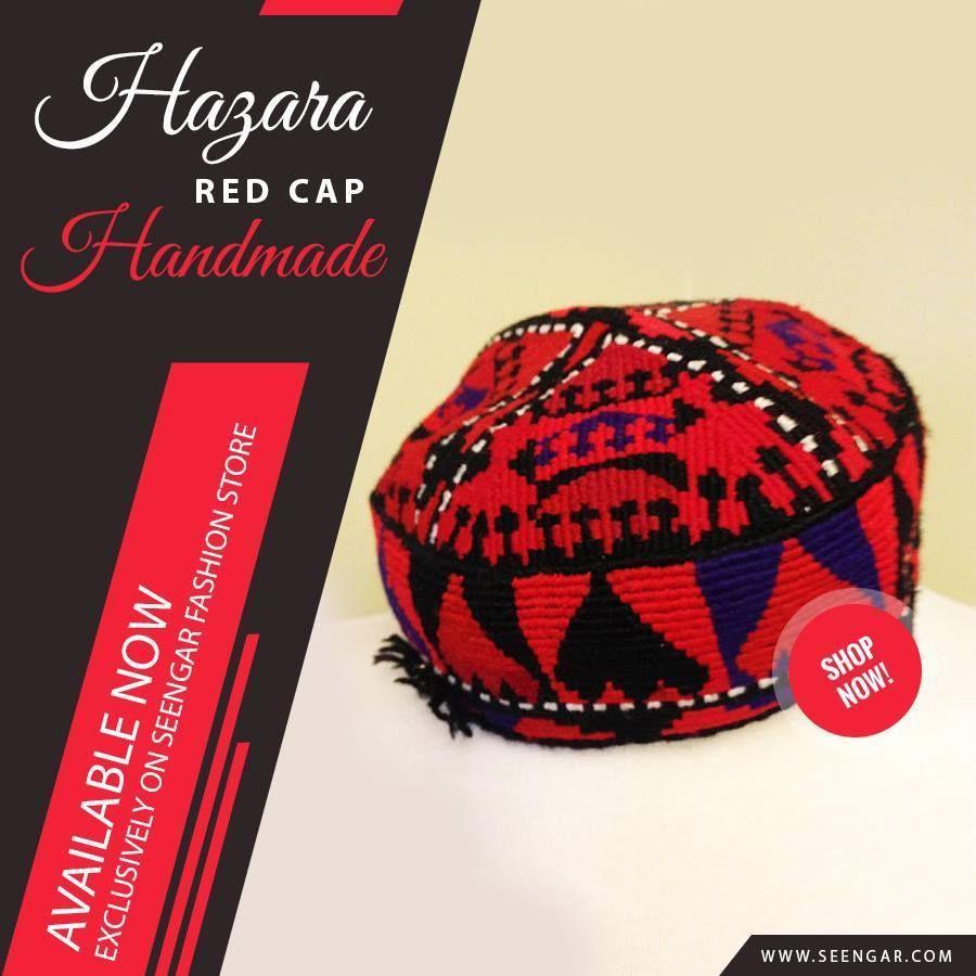 bec4fc2b5afb2 Manzoor Pashteen Red Cap #SeengarFashion | Pakol | Cap, Red, Hats