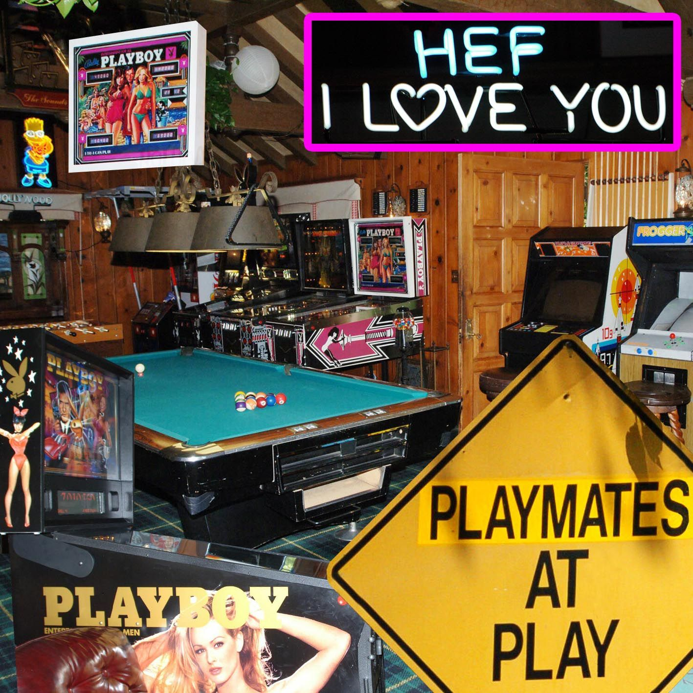 the playboy mansion game room celebrities homes pinterest