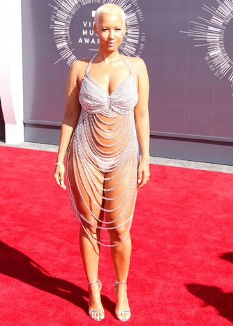 The Most Revealing Red Carpet Looks Ever Tv Guide Vmas Dress Celebrity Dresses Red Carpet Celebrity Dresses