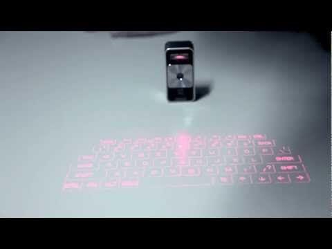 Celluon Magic Cube iPad Lasertastatur (für alle iPad, iPhone und iPod touch)