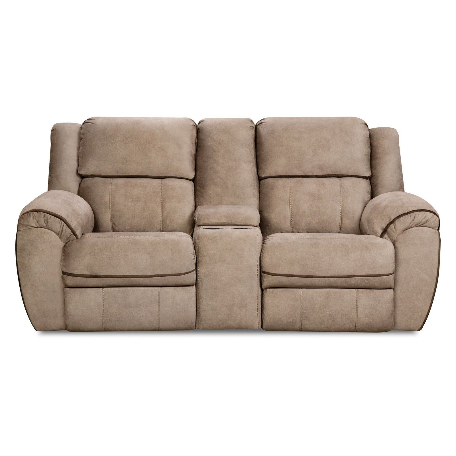 Cool Simmons Upholstery Osborn Tan Double Motion Loveseat Cjindustries Chair Design For Home Cjindustriesco