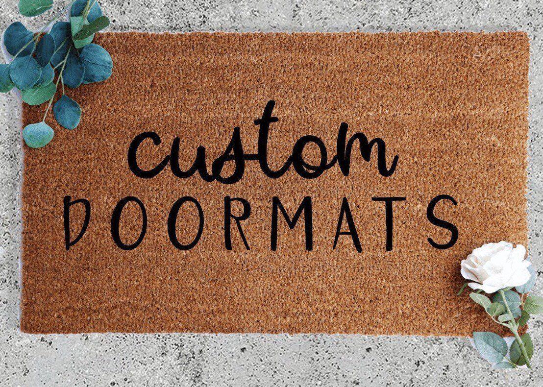 Custom Doormat Coir Doormat Outdoor Decor Outside Mat