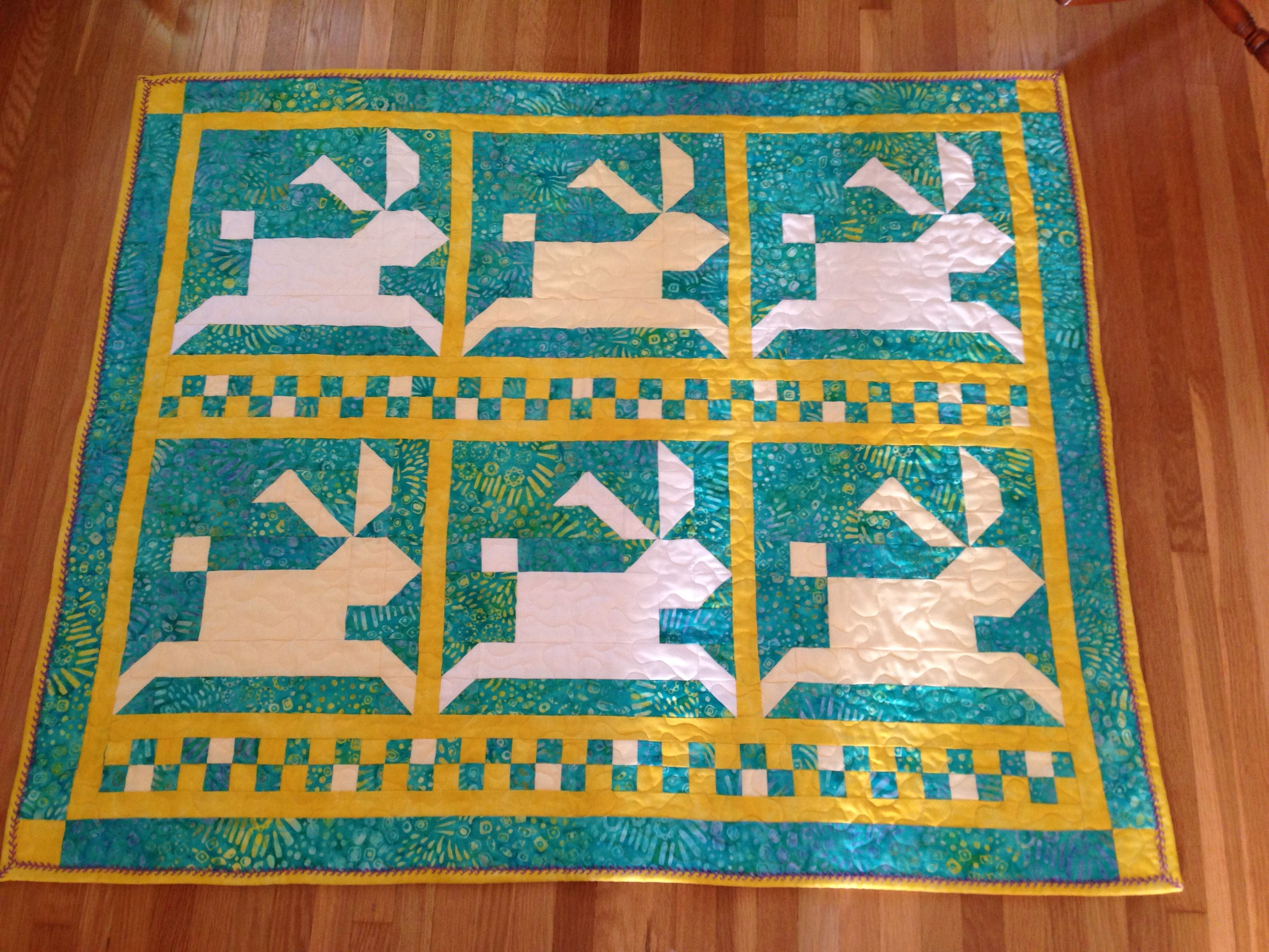 Quilt for Molly Elizabeth Robb.