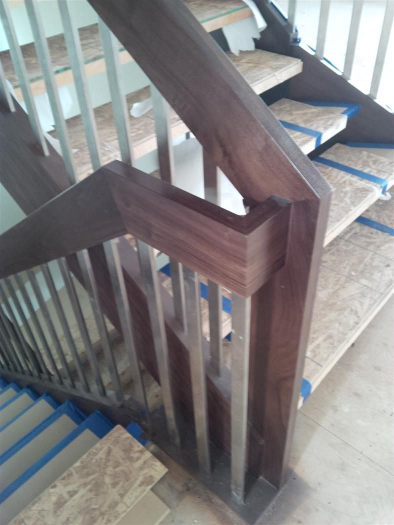 Newel Posts   Artistic Stairs 9