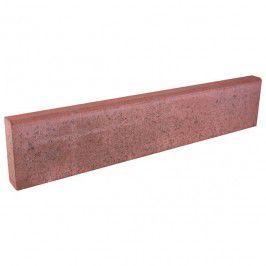 Obrzeze Chodnikowe Polbruk 20 X 6 X 100 Cm Czerwone