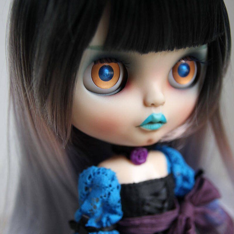Custom Doll for Adoption by NightNightBlythe  CHECK HERE  http://etsy.me/2BC8xVL  #blythe #dollycustom #blythecustom #blythecustomizer #ooakblythe #customblythe #kawaii #doll #artdoll #dollstagram #blythestagram #blythelover #ブライス