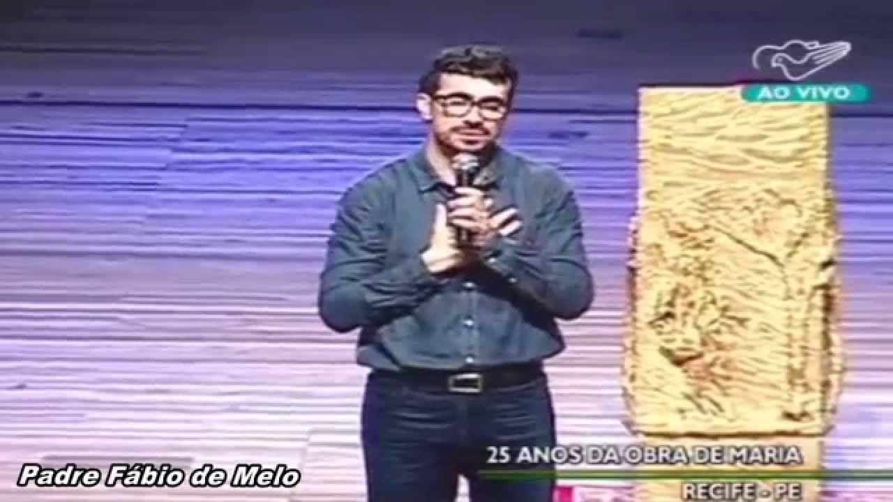 Sem enfrentamento não há mudança_Padre Fábio de Melo_25 anos da Obra de ...