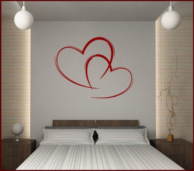 Wandtattoo Love Herzen | Schlafzimmer Eltern | Pinterest ...