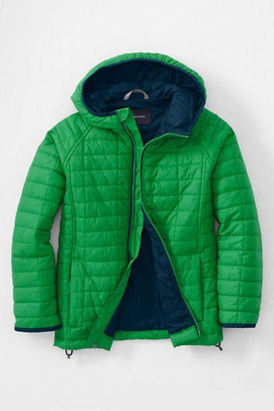 8b91ef8fa Boys Lightweight Primaloft Jacket from Lands  End